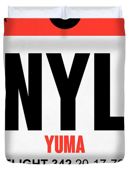 Nyl Yuma Luggage Tag I Duvet Cover