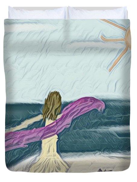 Ocean Dance Duvet Cover