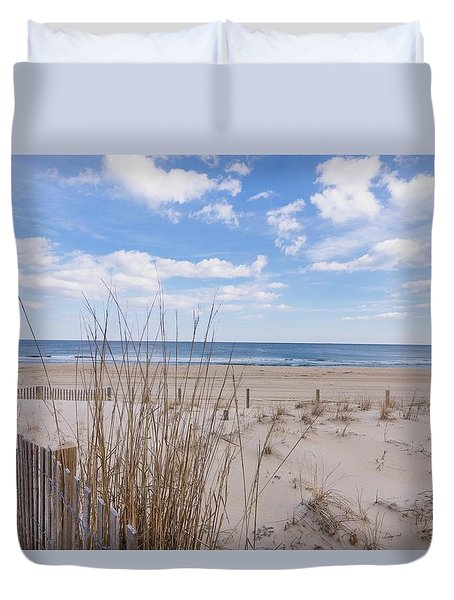 Ocean Dune Duvet Cover