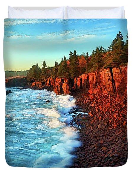 Ocean Energy Duvet Cover