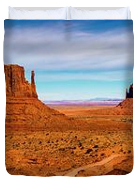 Duvet Cover featuring the photograph Ocean Front Property In Arizona by David Morefield