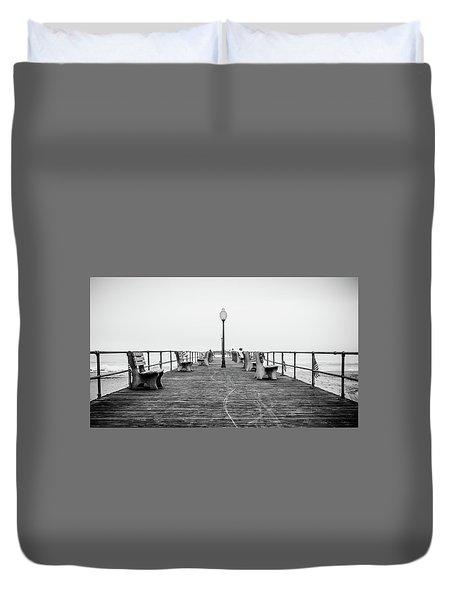 Ocean Grove Pier 1 Duvet Cover