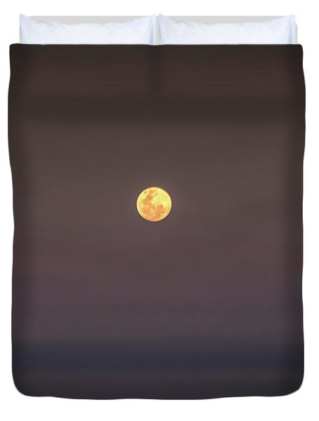 Ocean Moon Duvet Cover