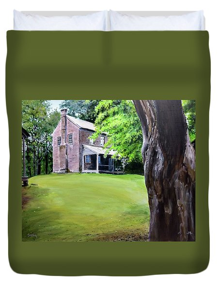 Oconee Station Duvet Cover