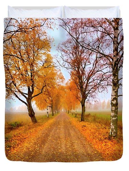 October Morning 6 Duvet Cover