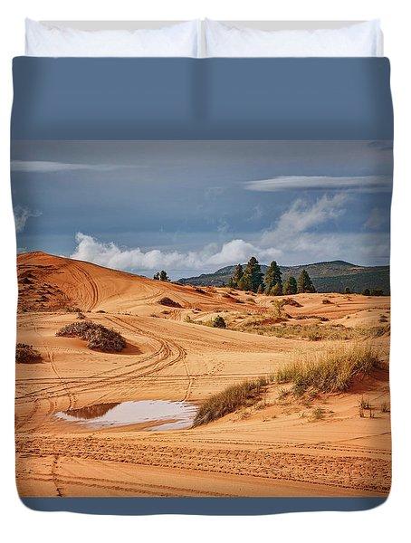 Off-road Recreation - Coral Pink Sand Dunes - Utah Duvet Cover