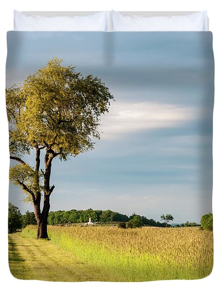 Off The Road Duvet Cover