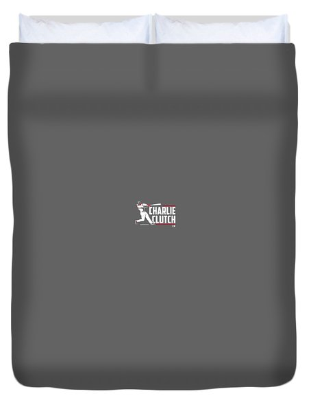 Officially Licensed Charlie Culberson Shirt - Charlie Clutch Duvet Cover