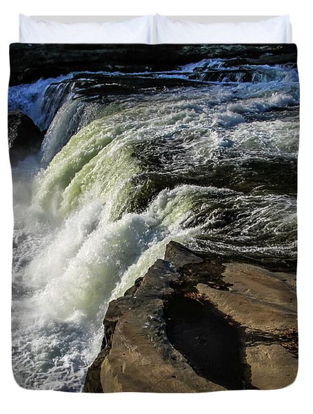 Ohiopyle Falls 1 Duvet Cover