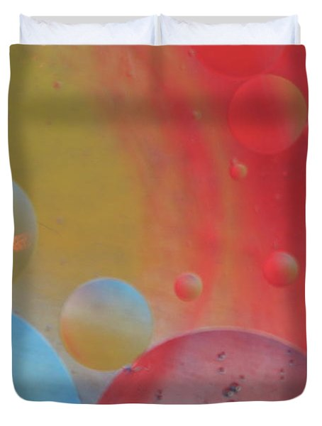 Oil And Color Duvet Cover