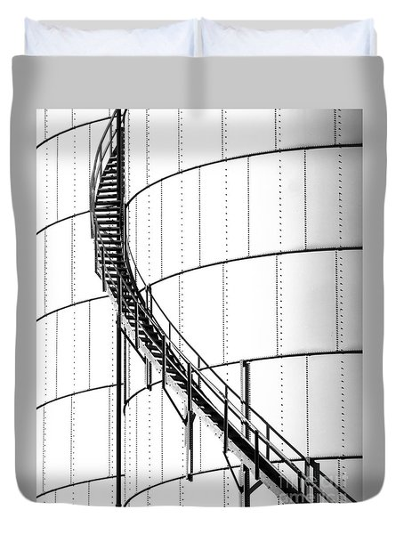 Oil Tank 2 Duvet Cover
