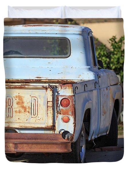 Old Ford Pickup Truck Tucson Arizona Duvet Cover