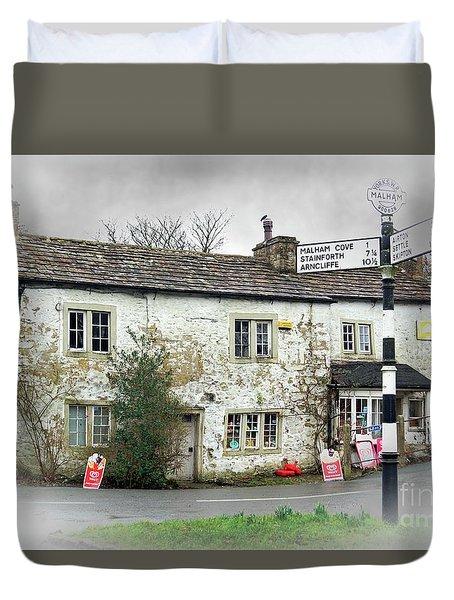 Old Malham Duvet Cover