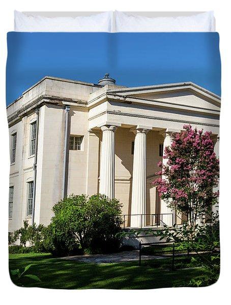 Old Medical College - Augusta Ga Duvet Cover