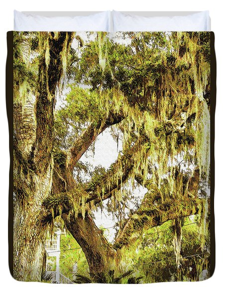Old Mossy Oaks Duvet Cover