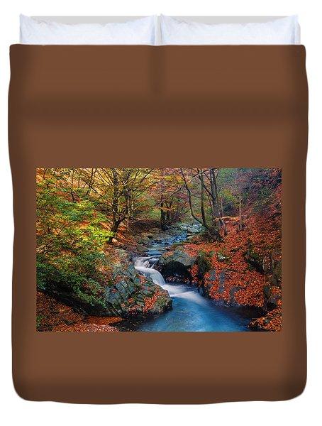 Old River Duvet Cover
