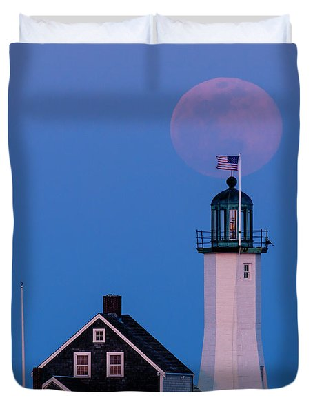 Old Scituate Light Duvet Cover