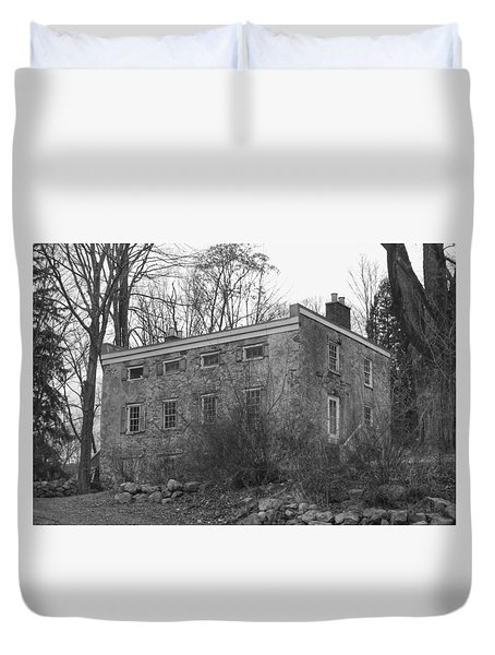 Old Stone House - Waterloo Village Duvet Cover