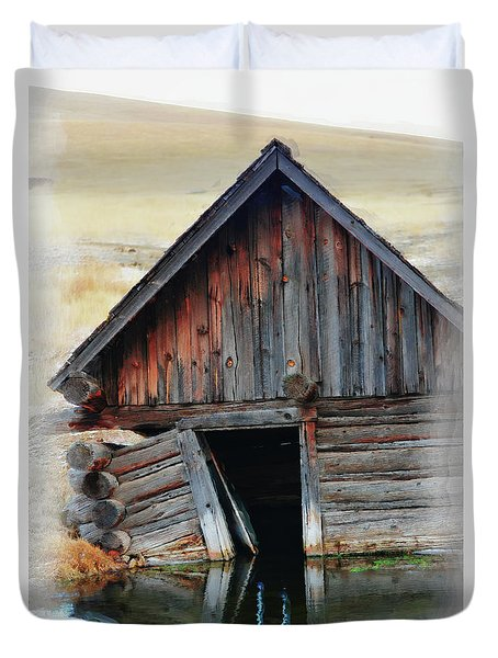 Old Well House #2 Duvet Cover