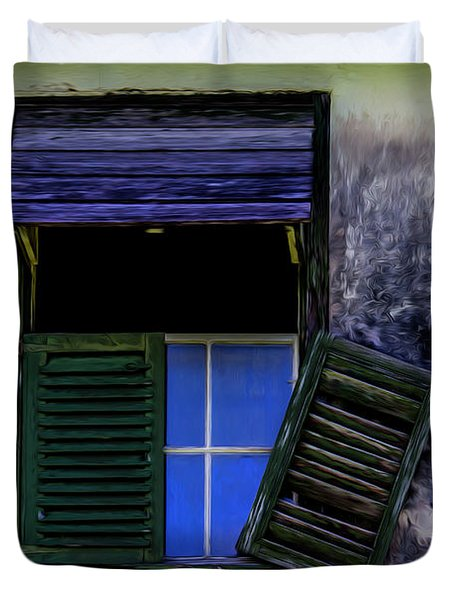 Old Window 2 Duvet Cover