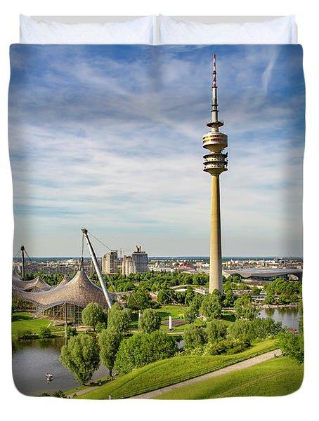 Olympic Park, Munich Duvet Cover