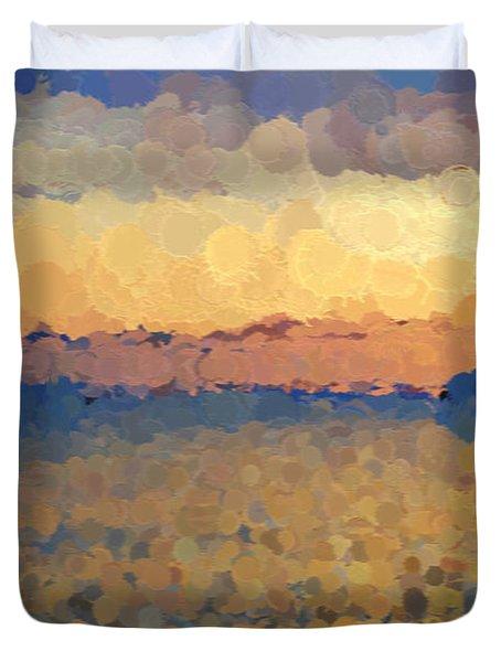 On The Horizon Duvet Cover