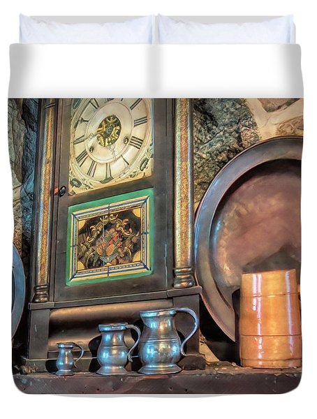On The Mantle Duvet Cover