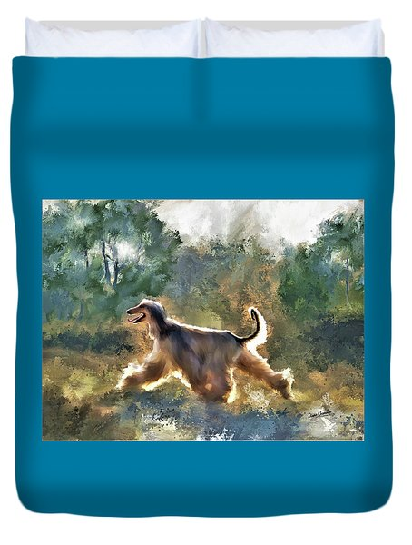 On The Move Duvet Cover