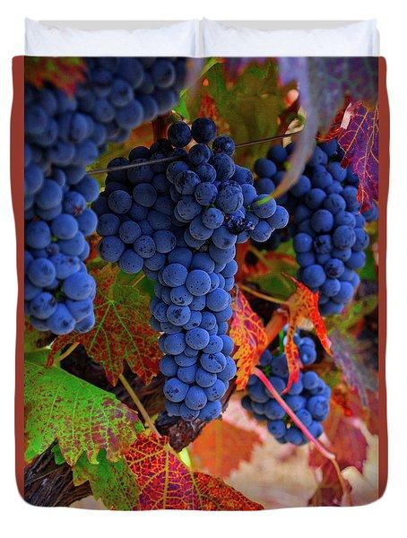 On The Vine II Duvet Cover