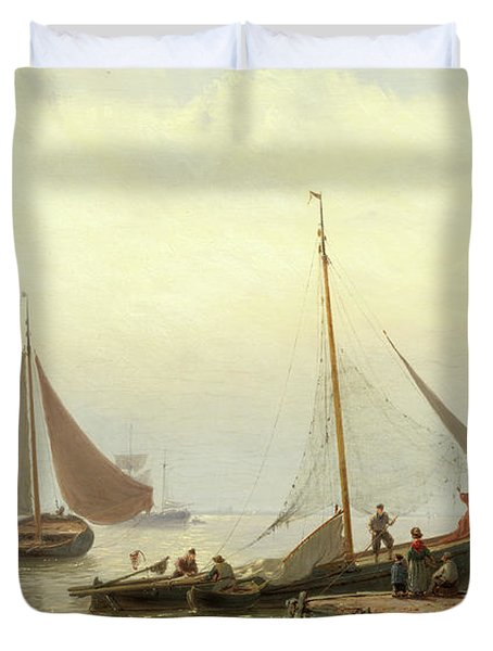 On The Zuiderzee Duvet Cover