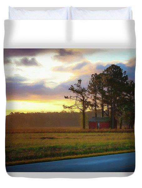 Onc Open Road Sunrise Duvet Cover