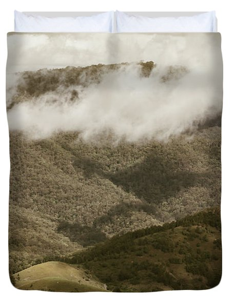 Oncoming Rains Duvet Cover