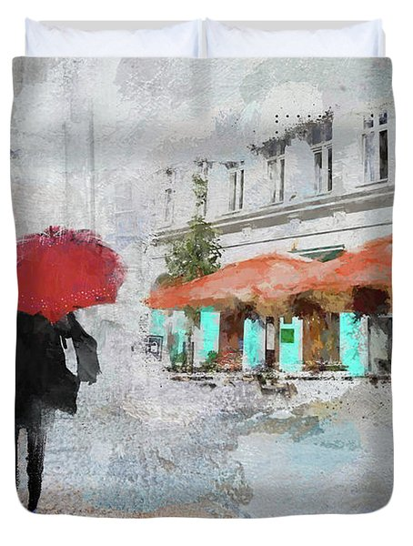 One Fine Day Duvet Cover