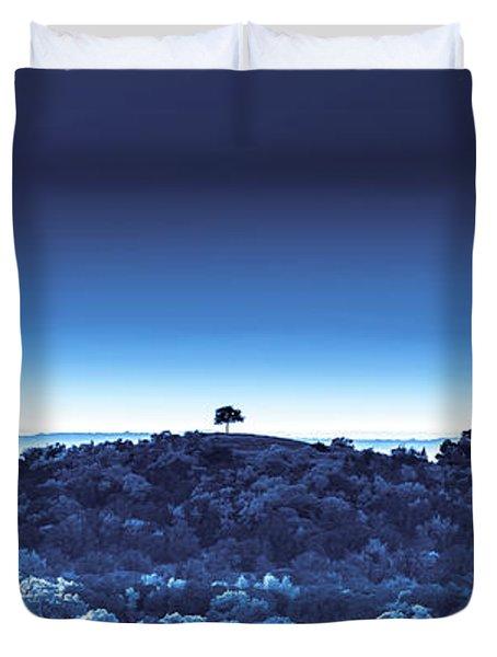 One Tree Hill - Blue - 3 Duvet Cover