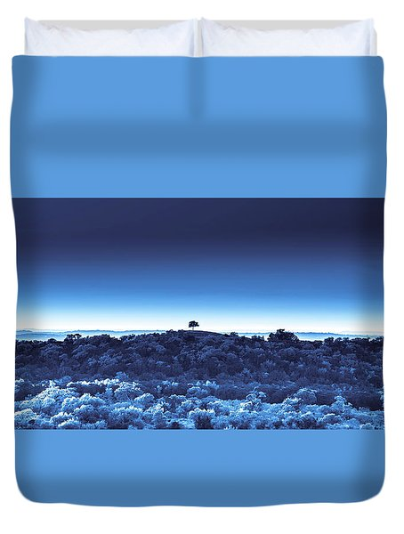 One Tree Hill - Blue - 3 Duvet Cover