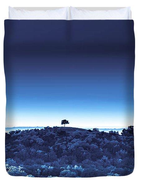 One Tree Hill - Blue 4 Duvet Cover