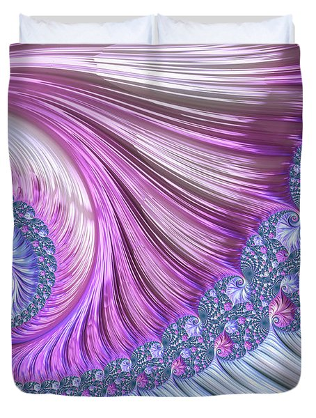Opal Nautilus Duvet Cover