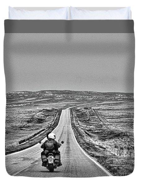 Open Road Duvet Cover