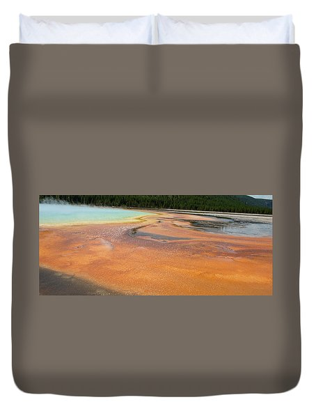 Orange River Duvet Cover