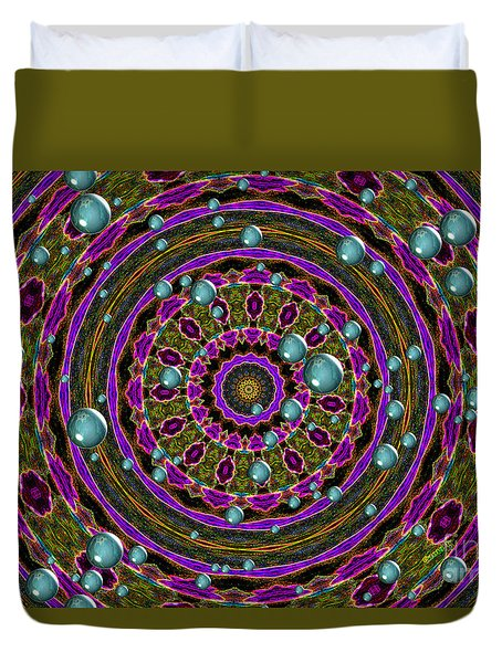 Orbital Alignment Duvet Cover