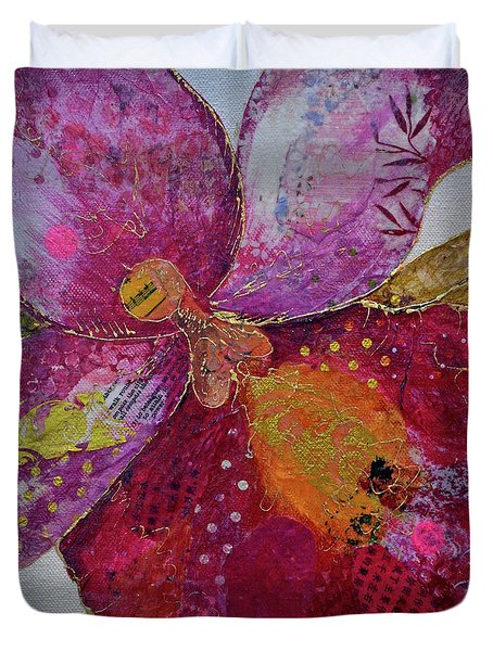 Orchid Passion I Duvet Cover