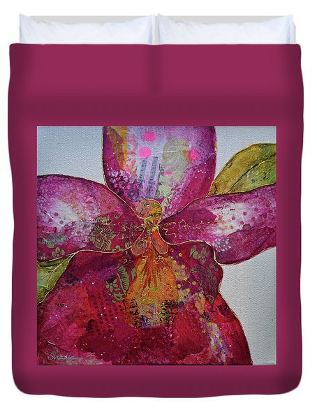 Orchid Passion II Duvet Cover