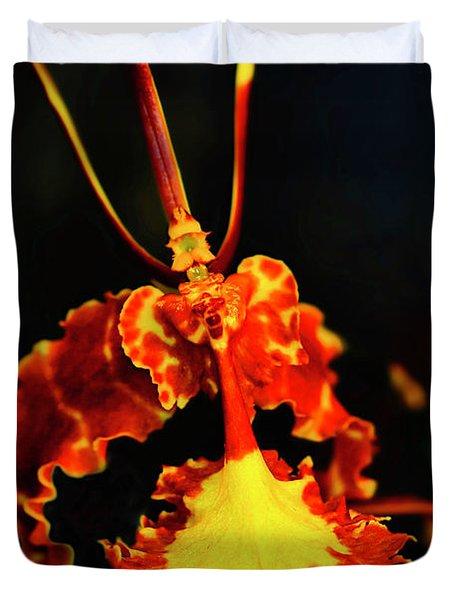 Orchid Study Four Duvet Cover