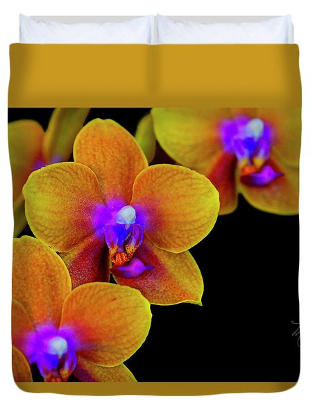 Orchid Study Ten Duvet Cover