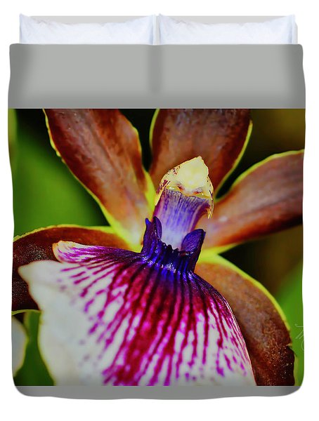 Orchid Study Two Duvet Cover