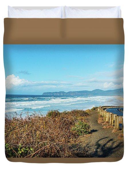 Oregon Surf Duvet Cover