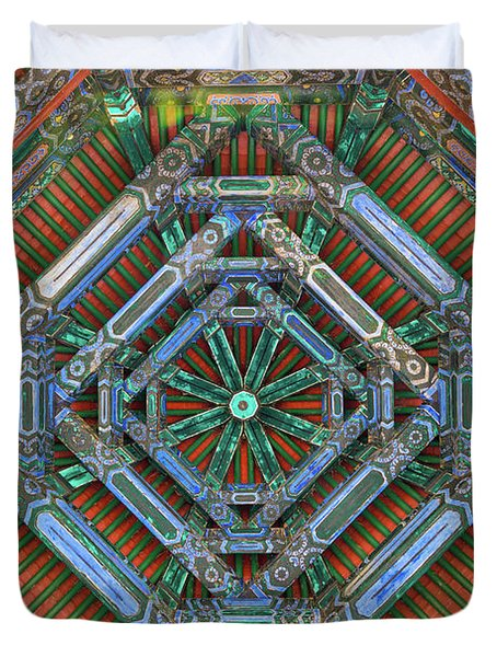 Oriental Ceiling Duvet Cover