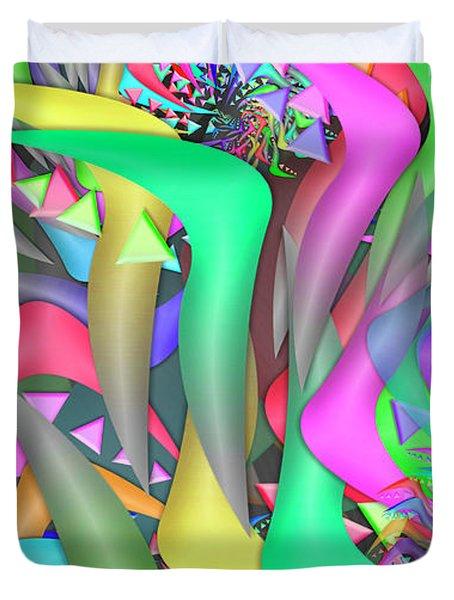 Ornament Complex Remix One Duvet Cover