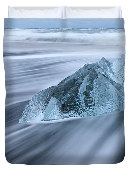 Ornate Ice Duvet Cover