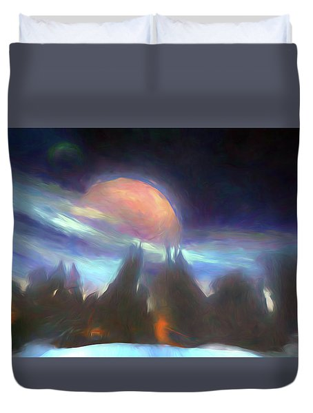 Other Worlds II Duvet Cover